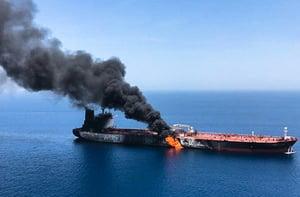 劍指中共?特朗普:各國要保護自己的油輪