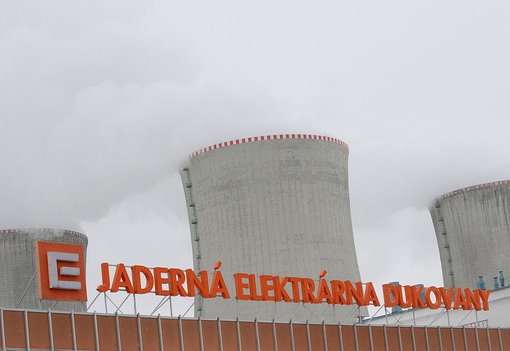 2013年3月的捷克瓦杜科瓦尼(Dukovany)核電站。(MICHAL CIZEK/AFP via Getty Images)