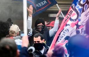 AI公司:面部辨識發現安提法混入抗議人群闖進美國會