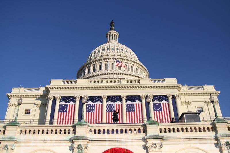 美國國會大廈(李莎/大紀元)