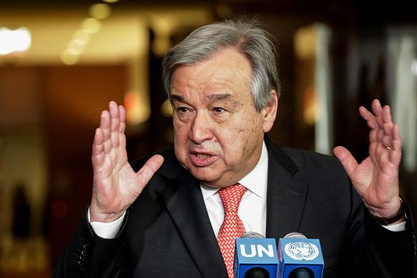 前葡萄牙總理古特雷斯料將成為下一屆聯合國秘書長。(KENA BETANCUR/AFP/Getty Images)