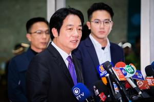 直面兩岸爭議題 賴清德:民進黨反共不反中