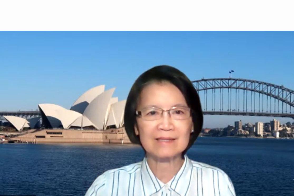 4月15日,定居澳洲的台灣作家、資深媒體人蘇拾瑩對大紀元表示,中共懼怕大紀元報道事實真相,是襲擊香港大紀元時報的始作俑者。(蘇拾瑩提供)