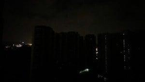 廣深無預警大停電 斷網斷水街道漆黑如隔世