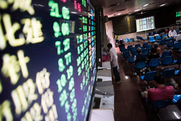 A股今年一季度下跌幅度領先全球。(AFP PHOTO/JOHANNES EISELE)