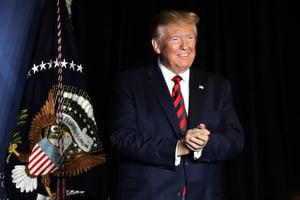 特朗普:達成中美貿易協議可能早於預期
