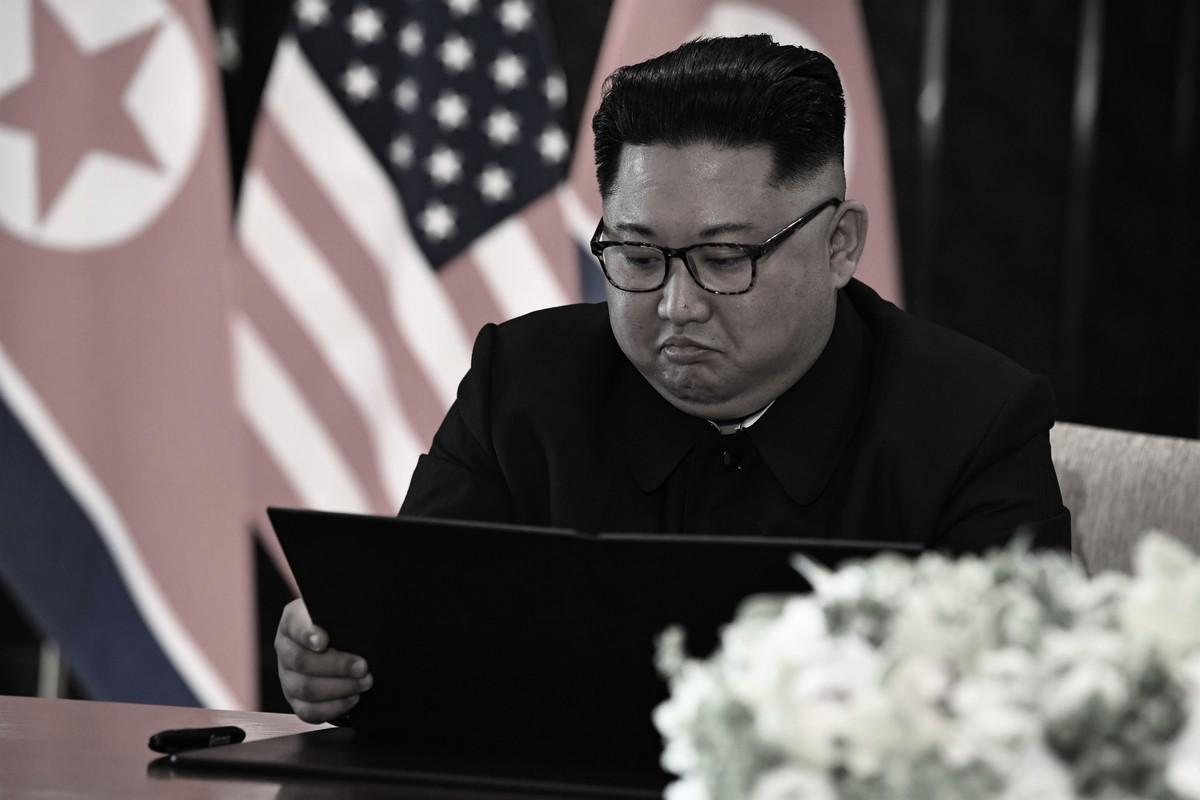 圖為北韓領導人金正恩示意圖。(SAUL LOEB/AFP/Getty Images)