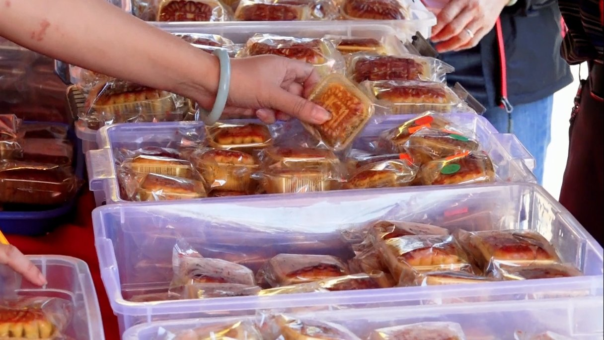 中國製造的月餅食品質量令人堪憂。(安心/大紀元)