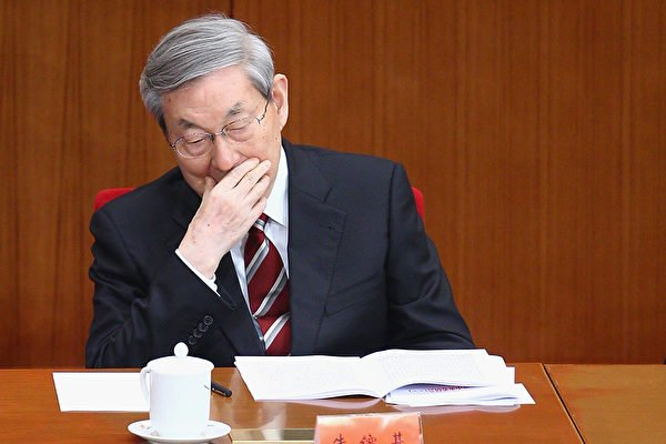 中共前總理朱鎔基曾公開說:「如果香港搞壞了,中共就是民族罪人」。(Feng Li/Getty Images)