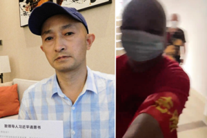 張海告武漢政府瞞疫 接受外媒採訪遭攔阻