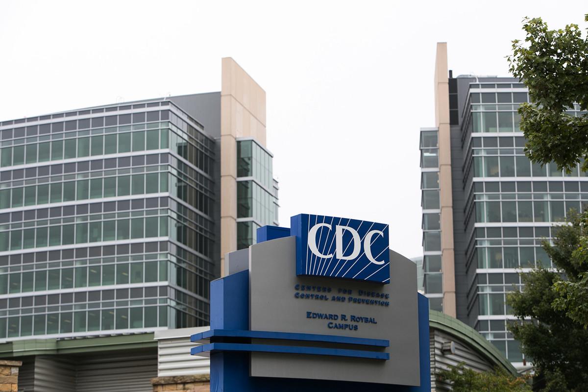 CDC表示,美國至少30各州的中共肺炎(俗稱武漢肺炎、新冠肺炎)病例與歐洲有關。圖為CDC外觀。(Jessica McGowan/Getty Images)