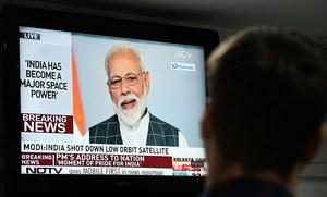 印度試射反衛星導彈 三分鐘擊落衛星