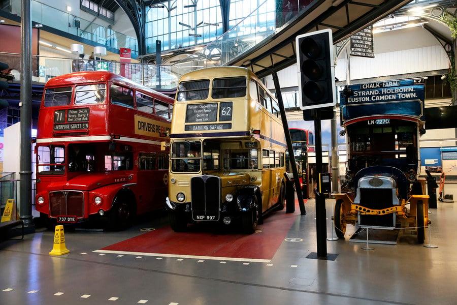 倫敦交通博物館5月17日起對外開放(多圖)