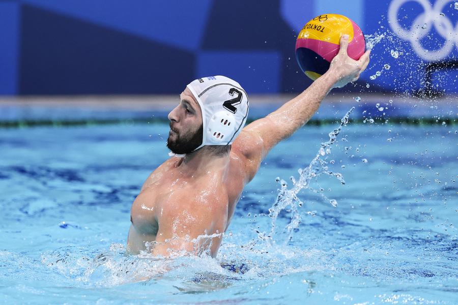 希臘野火肆虐 水球隊奧運銀牌半數獎金捐災民