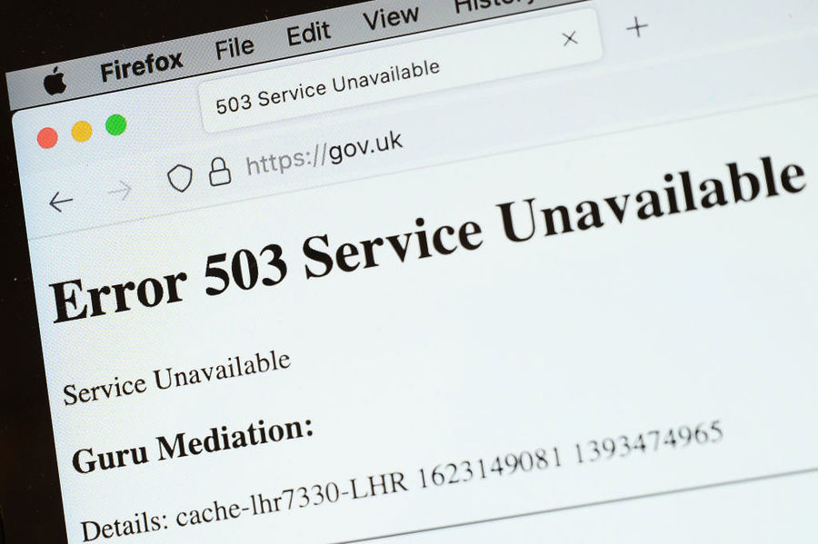 雲端服務商故障 全球多網站突然死機一小時