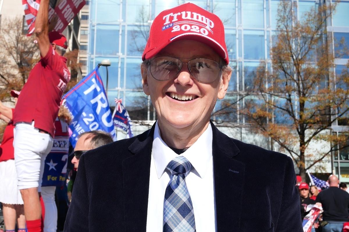 美國南卡羅來納州立憲黨副主席、聯邦參議員候選人比爾.布萊索(Bill Bledsoe)。(李辰/大紀元)