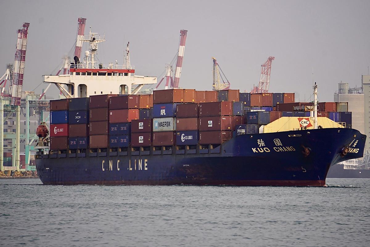 財政部9日公佈3月海關進出口貿易初步統計,3月出口達358.9億美元(約新台幣1兆209億元),創下歷年單月新高。(中央社)