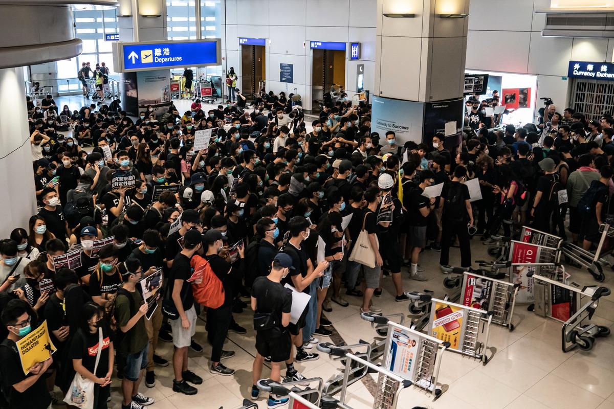 香港反送中運動已持續10周。(Anthony Kwan/Getty Images)