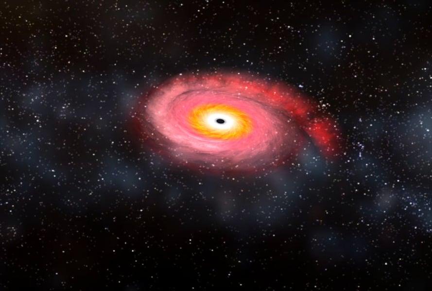 天體劇變 科學家首次觀測黑洞吞噬中子星
