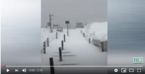 【現場影片】六月的長白山漫天飛雪