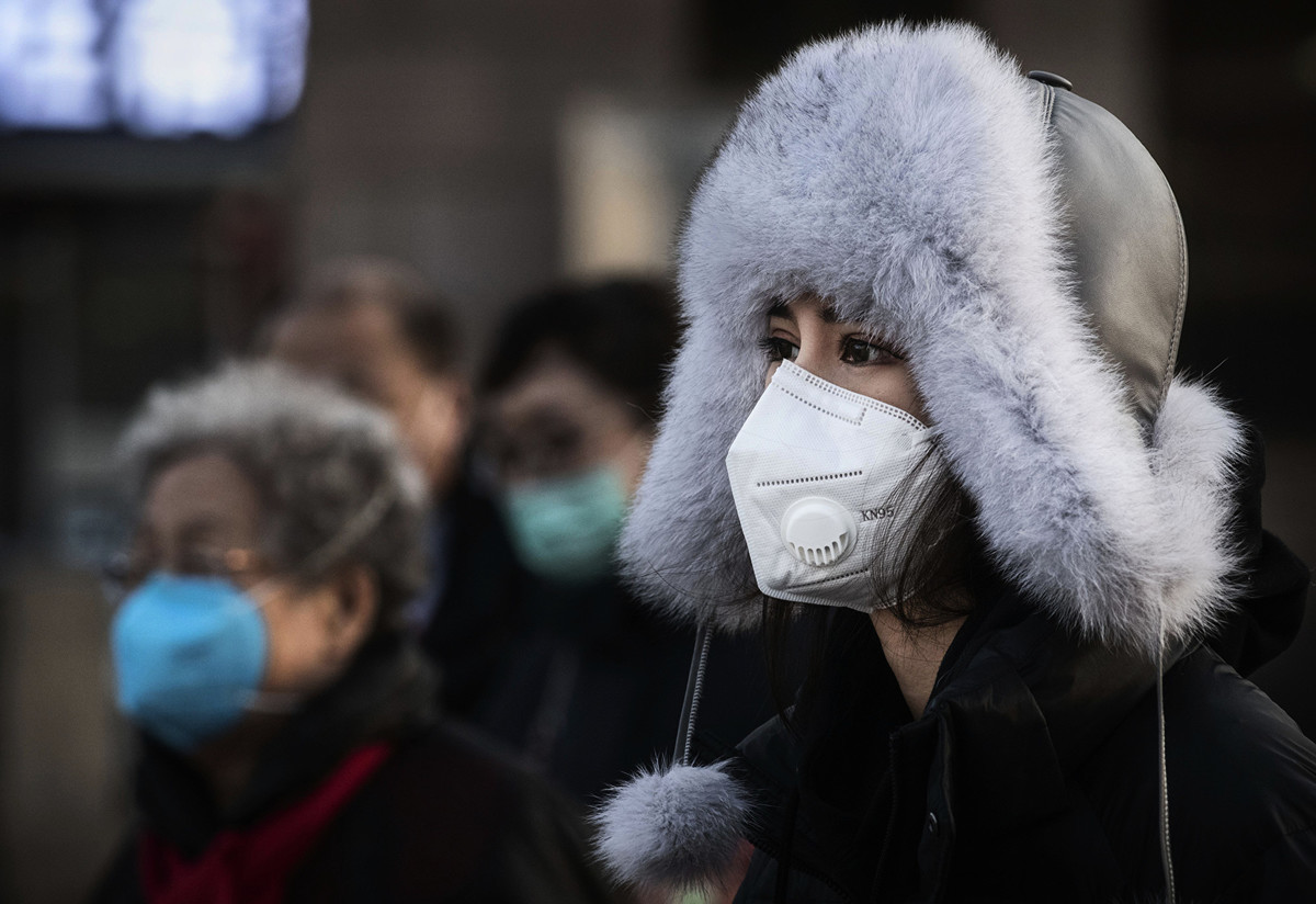2020年1月31日,瑞典確診第一宗中共病毒感染病例。(Kevin Frayer/Getty Images)