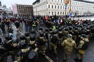組圖:俄羅斯反對派領袖被捕 民眾再度抗議