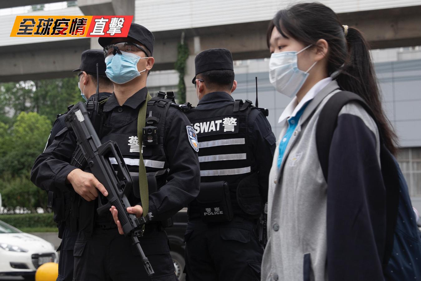 專家揭病毒始祖在武漢。(新唐人合成)