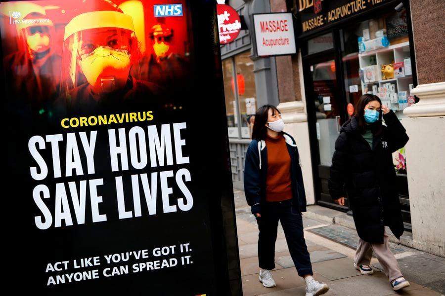 傳染病專家:英全國封鎖措施不起作用