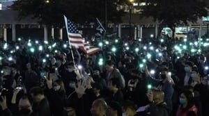 【12.23反暴政直播】香港聲援「星火」集會