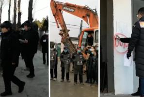 政府毀約 北京小湯山強拆 斷水斷電引民怒