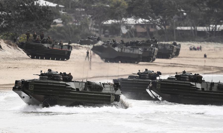 澳美「護身軍刀」軍演 澳本土首射愛國者導彈