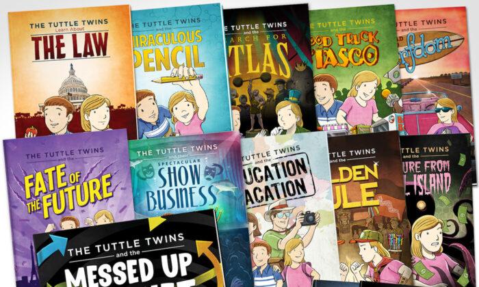 兒童書Tuttle Twins:講述學校不教的普世價值