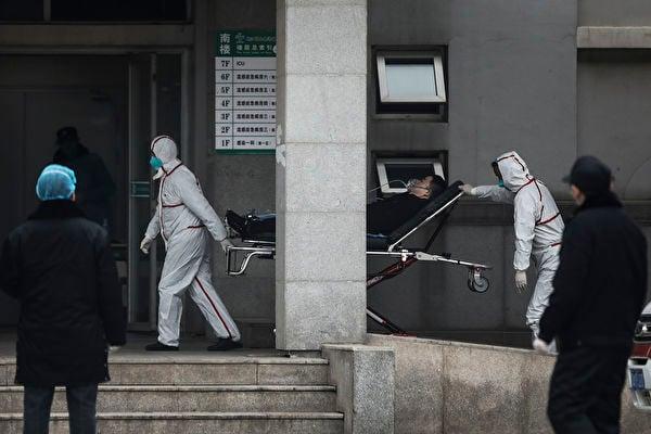 武漢市金銀潭醫院。(Getty Images)