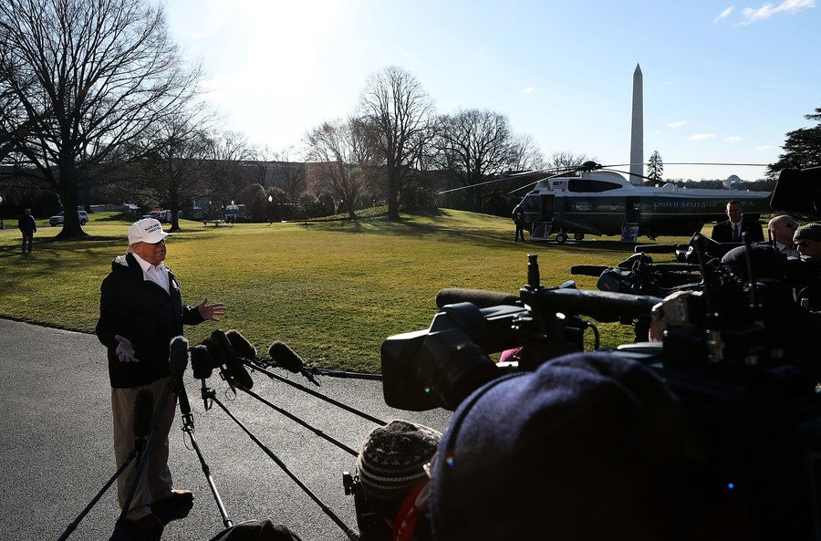 民主黨拒絕邊境牆合作 特朗普取消達沃斯行程