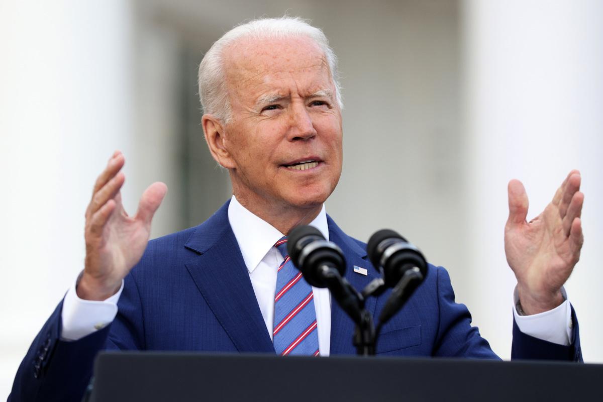美國總統拜登。(Alex Wong/Getty Images)