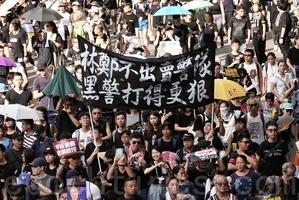 王友群:香港黑警為何如此窮兇極惡?