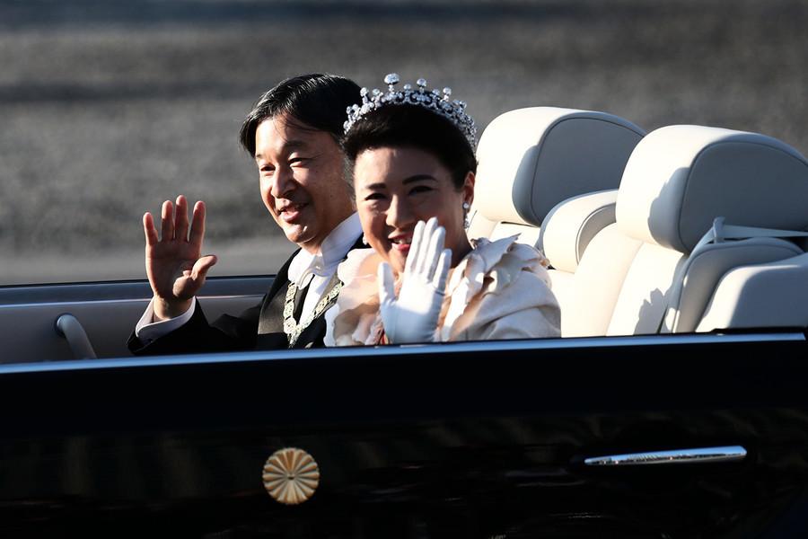 組圖:日本舉行新王即位慶祝巡遊