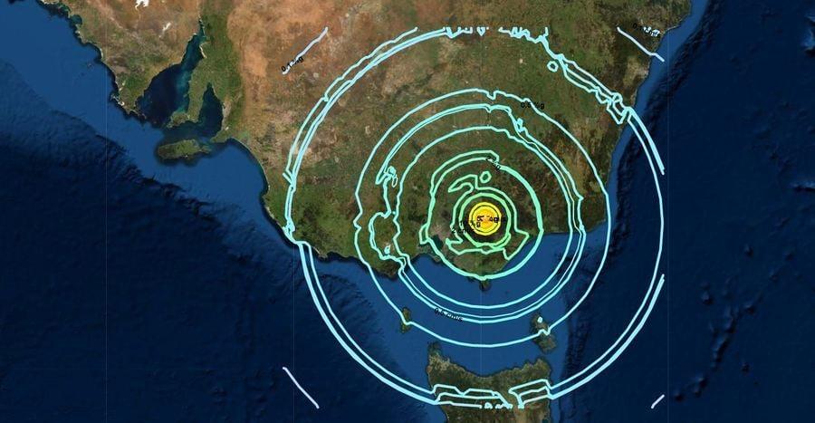 澳墨爾本附近發生5.9級地震 悉尼等地有震感