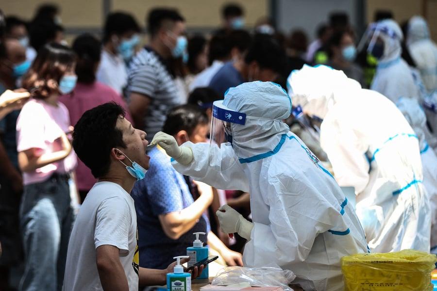 【一線採訪】南京確診者增 更多小區封區封門