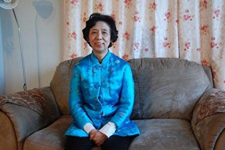 2021年4月,從中國逃亡加拿大2年後,馮秀敏回憶過去20年在中國大陸的經歷,感慨不已(伊鈴/大紀元)