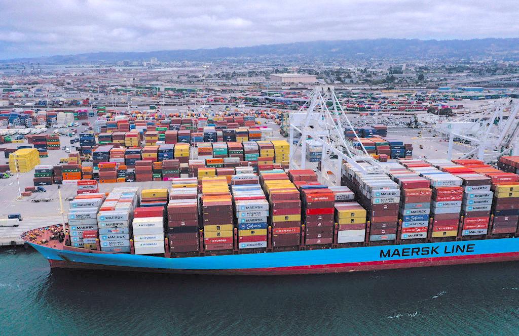 美中達成第一階段貿易協議。圖為示意圖。(Justin Sullivan/Getty Images)