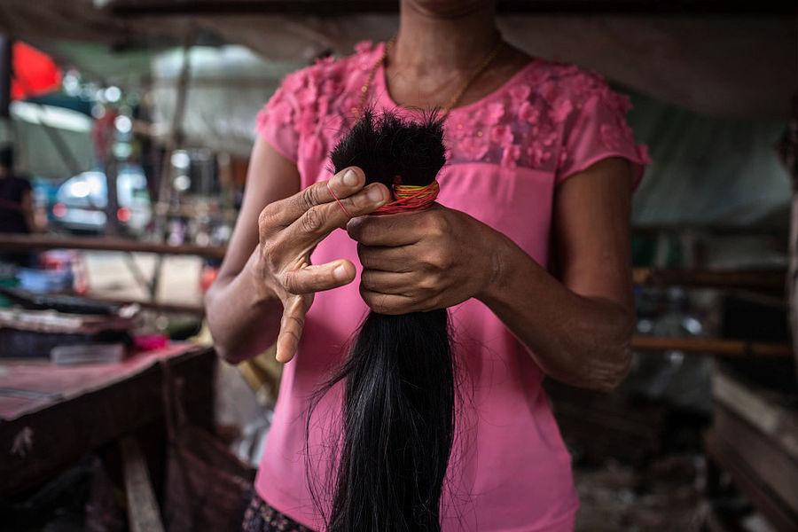 美國截獲十三噸來自中國的人類頭髮製品