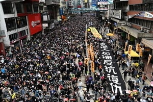 中共打壓香港自由 46港人申請加國難民