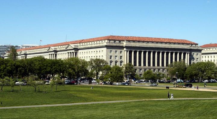 美國商務部周三將把中共央企「中國廣核集團」列入出口管制黑名單。圖為美國商務部。(維基百科公有領域)