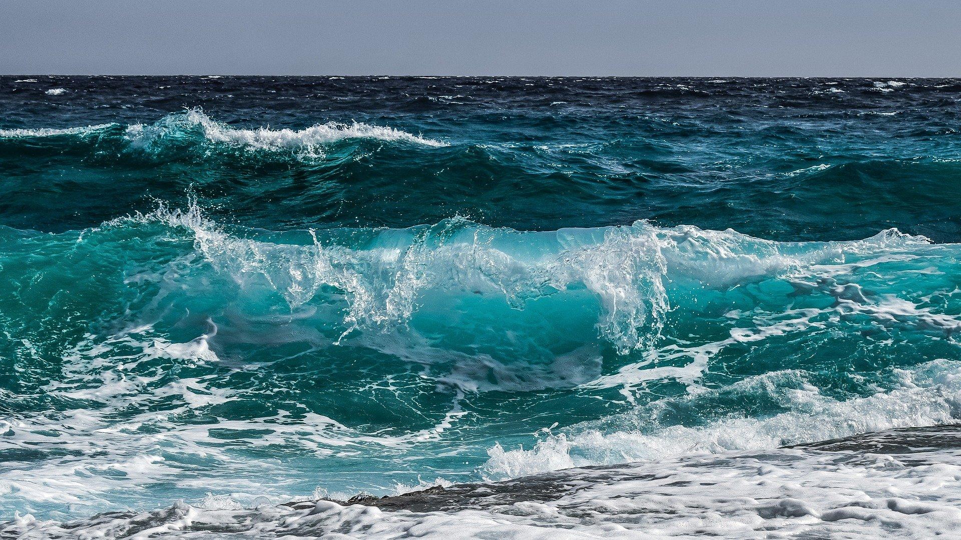 澳洲兩名醫務人員帶著一名臨終病人去看海,以完成她的願望。此為大海的示意圖。(Pixabay)