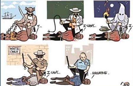老師給學生洗腦?美警察成三K黨和奴隸主