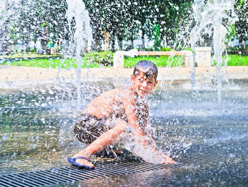熱浪及潮濕 七千萬美國人受酷熱天氣煎熬