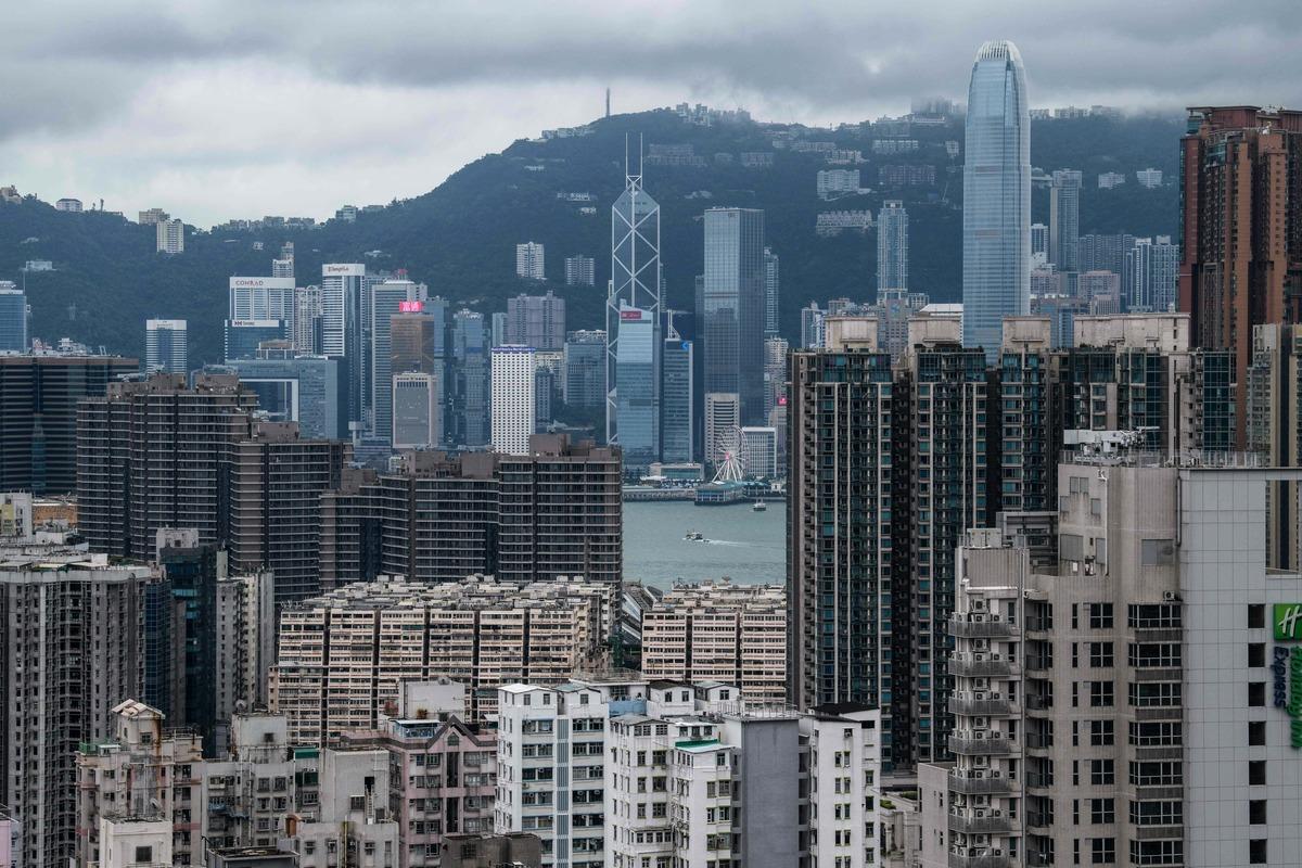 美國總統特朗普表示,如果中共執行「港版國安法」,香港將失去亞洲金融中心地位。 (ANTHONY WALLACE/AFP via Getty Images)