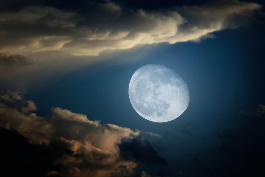 1110年月亮神秘消失 天文學家還原真相