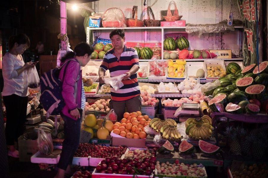 大陸水果價格暴漲 北京批發價同比升78%